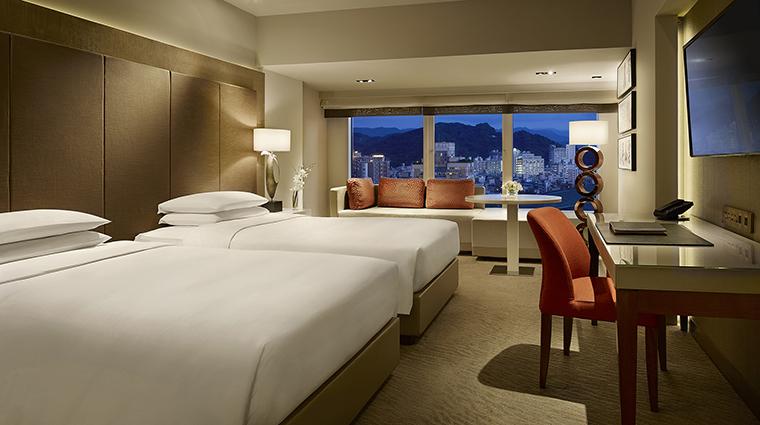 Property GrandHyattTaipei Hotel GuestroomSuite GrandRoomTwin HyattCorporation
