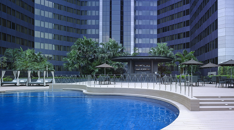 Property GrandHyattTaipei Hotel PublicSpaces SwimmingPool HyattCorporation