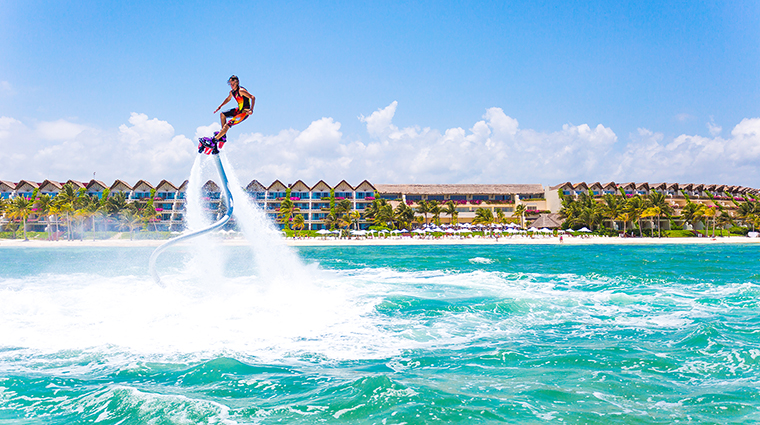 Property GrandVelasRivieraMaya Hotel Activities Flyboard VelasResorts