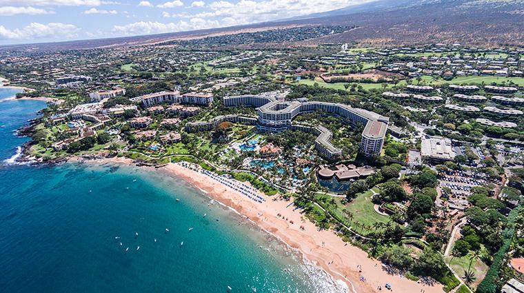 Property GrandWailea Hotel Exterior AerialView HiltonWorldwide