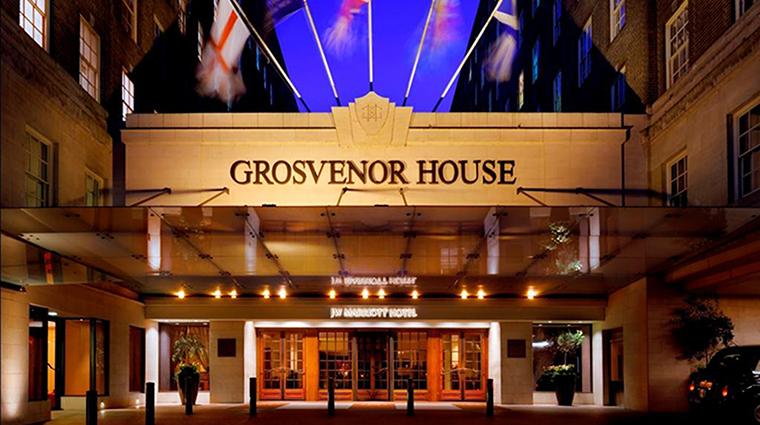 Property GrosvenorHouse Hotel Exterior HotelExterior MarriottInternationalInc