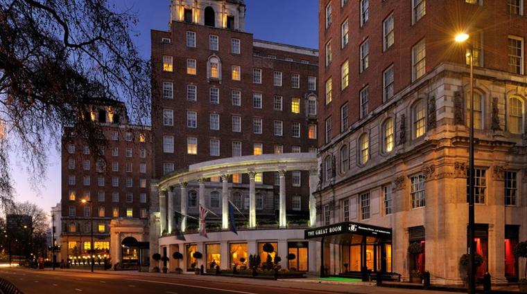 Property GrosvenorHouse Hotel Exterior HotelExteriorParkLane MarriottInternationalInc