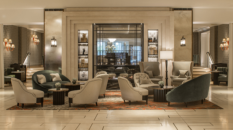 Property GrosvenorHouse Hotel PublicSpaces Lobby MarriottInternationalInc