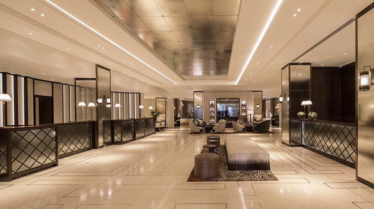 Property GrosvenorHouse Hotel PublicSpaces Lobby2 MarriottInternationalInc