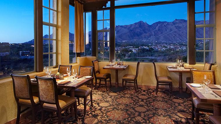 Property HaciendadelSol Hotel Dining TheGrillInterior HaciendadelSol