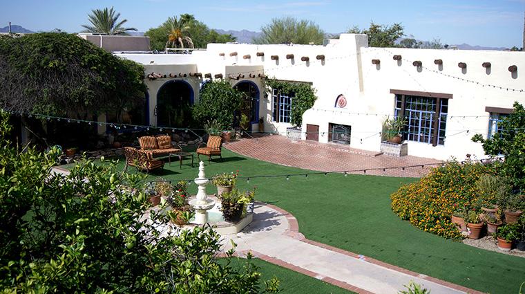 Property HaciendadelSol Hotel PublicSpaces Courtyard HaciendadelSol