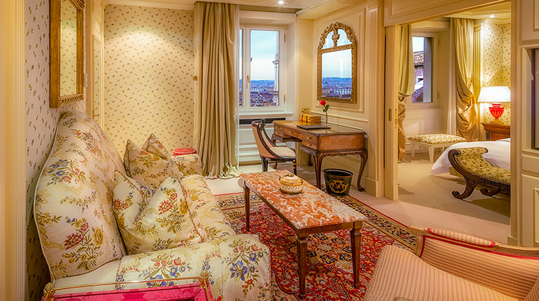 Property HasslerRoma Hotel GuestroomSuite ClassicSuiteEntrance TheLeadingHotelsoftheWorldLtd