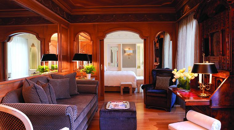 Property HasslerRoma Hotel GuestroomSuite ClassicSuiteLivingroom TheLeadingHotelsoftheWorldLtd