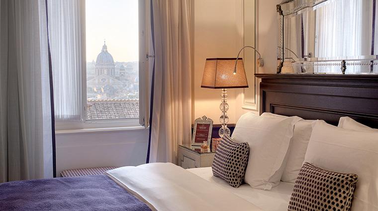Property HasslerRoma Hotel GuestroomSuite GuestroomView TheLeadingHotelsoftheWorldLtd