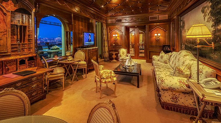 Property HasslerRoma Hotel GuestroomSuite TheSanPietroPresidentialSuiteLivingRoom TheLeadingHotelsoftheWorldLtd