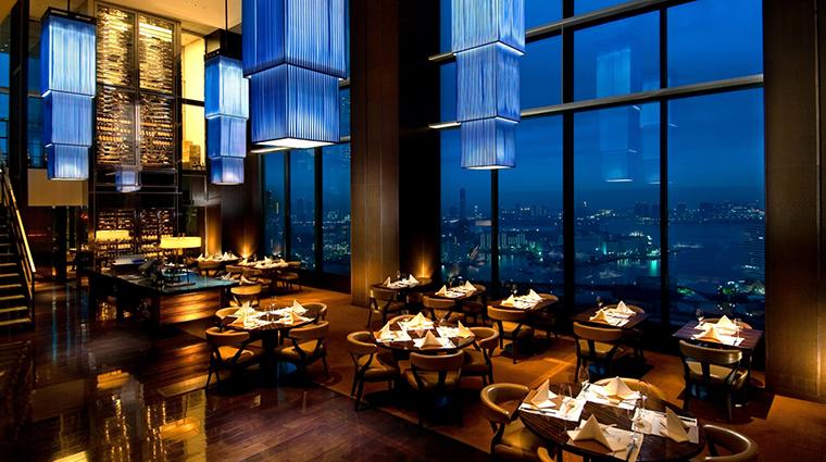 Property Hotel ConradTokyo ChinaBlueRestaurant CreditHiltonWorldwide