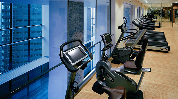 Property Hotel ConradTokyo FitnessCentre CreditHiltonWorldwide