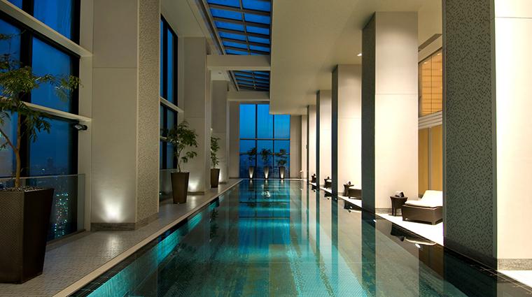 Property Hotel ConradTokyo IndoorSwimmingPool CreditHiltonWorldwide