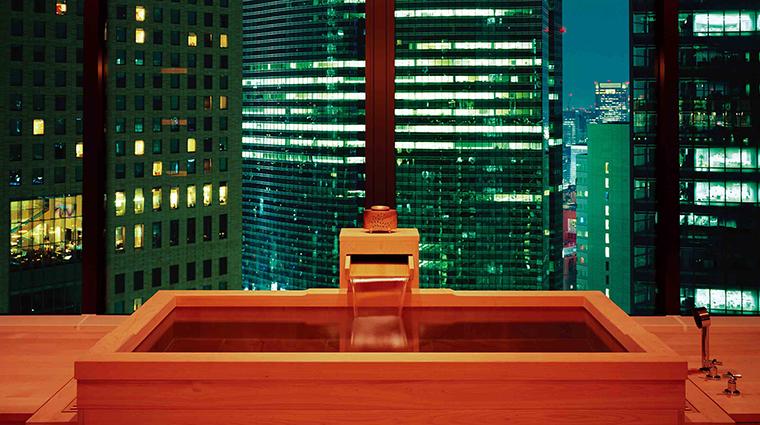 Property Hotel ConradTokyo MizukiSpa HinokiBath CreditHiltonWorldwide