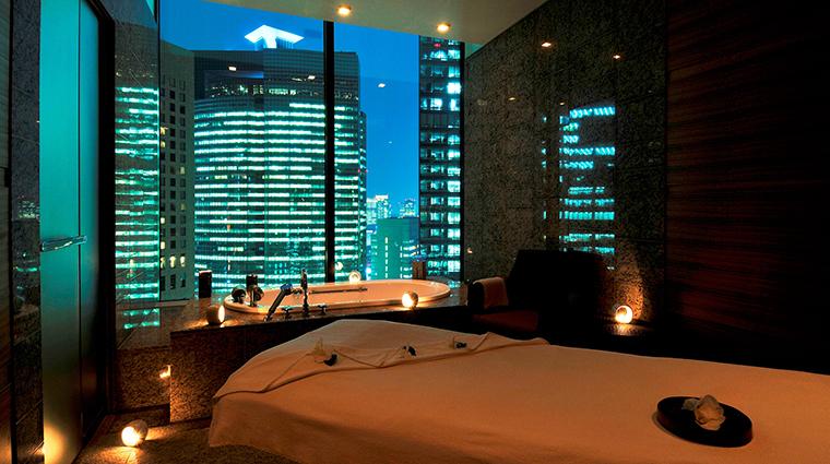 Property Hotel ConradTokyo MizukiSpa SingleTreatment CreditHiltonWorldwide
