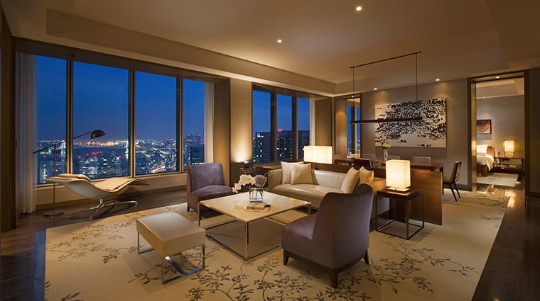 Property Hotel ConradTokyo RoyalSuiteLivingRoom CreditHiltonWorldwide