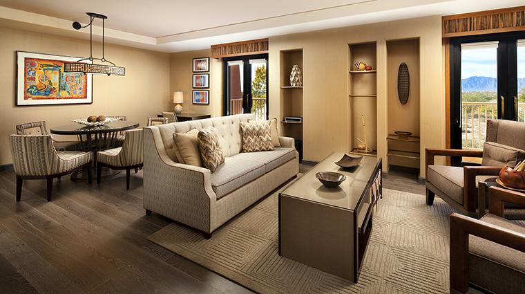 Property Hotel SheratonWildHorsePass DeluxeSuiteDiningRoom CreditStarwoodHotels&ResortsWorldwideInc