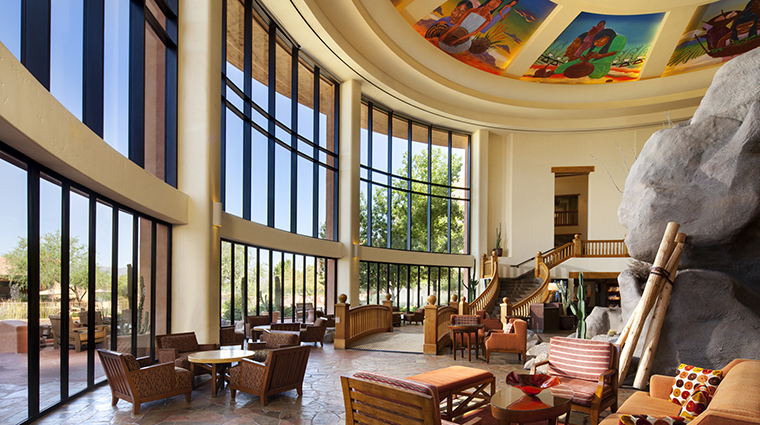 Property Hotel SheratonWildHorsePass LowerLobby CreditStarwoodHotels&ResortsWorldwideInc