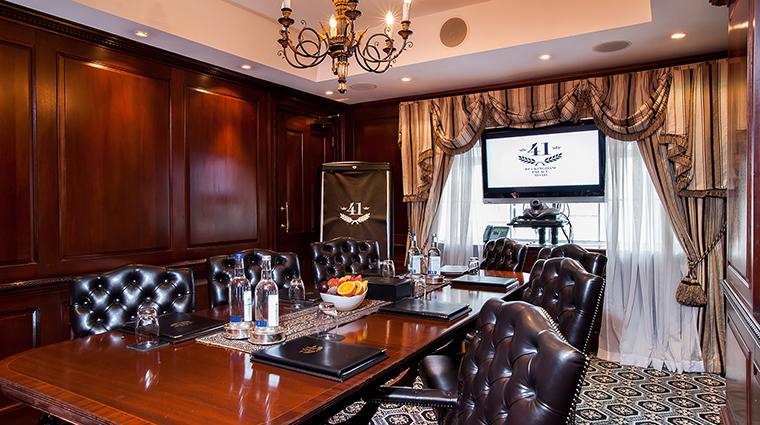 Property Hotel41 Hotel PublicSpaces Boardroom TheRedCarnationHotelCollection