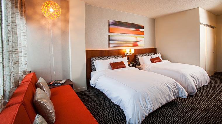Property HotelDerek 11 Hotel GuestroomSuite TheStandardRoom Bedroom CreditHotelDerek