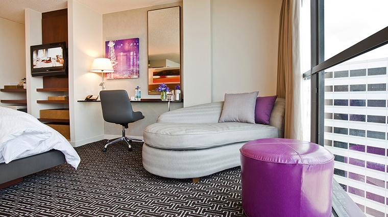 Property HotelDerek 7 Hotel GuestroomSuite TheTerraceSuite BedroomSittingArea CreditHotelDerek