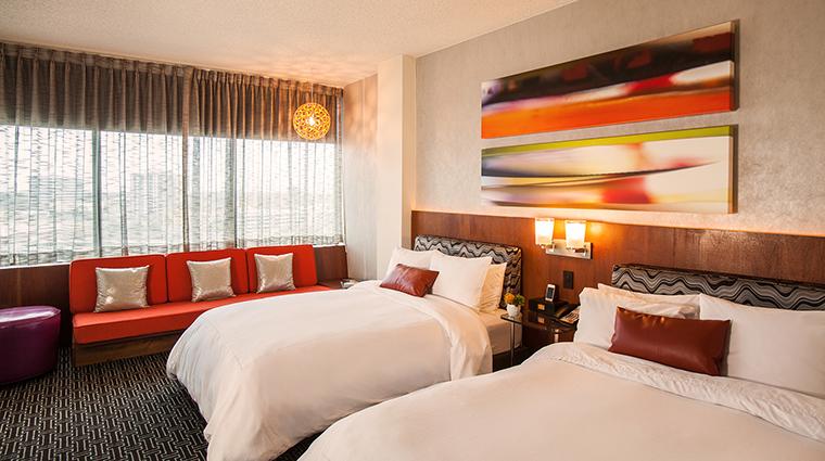 Property HotelDerek 9 Hotel GuestroomSuite TheSkyDeluxeDoubleRoom Bedroom CreditHotelDerek
