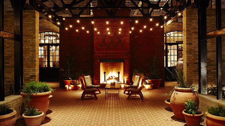 Property HotelEmma Hotel PublicSpaces CourtyardNight HotelEmma