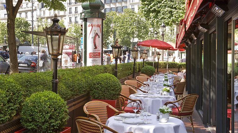 Property HotelFouquetBarriere Hotel Dining RestaurantTerrace LucienBarriere