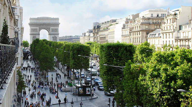 Property HotelFouquetBarriere Hotel Exterior ChampsElyseesView LucienBarriere