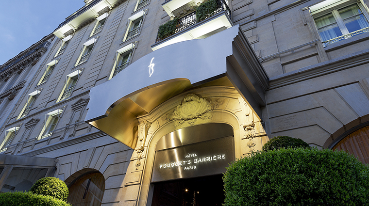Property HotelFouquetBarriere Hotel Exterior Entrance LucienBarriere