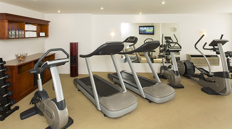 Property HotelLeBonneEntente 12 Hotel PublicSpaces Gym CreditHotelLeBonneEntente