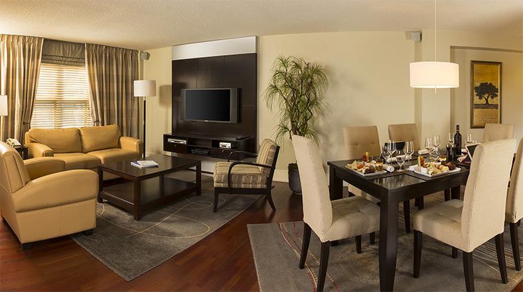 Property HotelLeBonneEntente 8 Hotel GuestroomSuite SpaSuite LivingRoomandDiningRoom CreditHotelLeBonneEntente