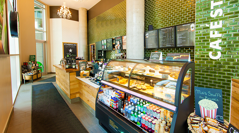 Property HotelLeCrystal Hotel Dining LeCrystalStarbucks HotelLeCrystalMontreal