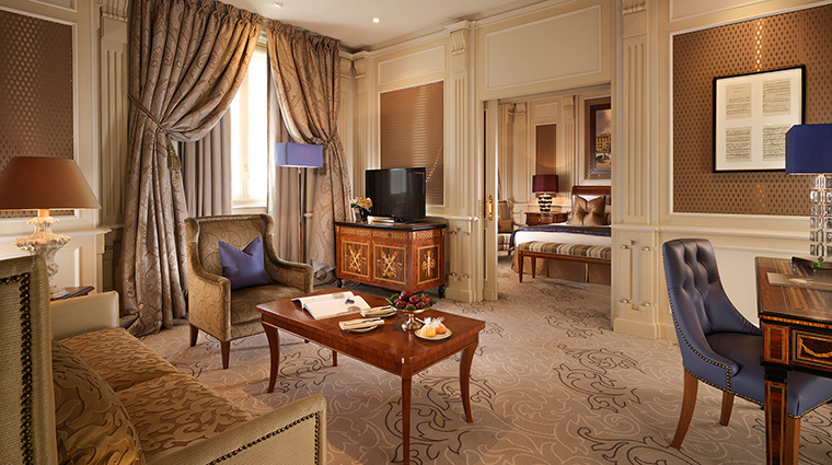 Property HotelPrincipediSavoia Hotel GuestroomSuite AmbassadorSuite DorchesterCollection