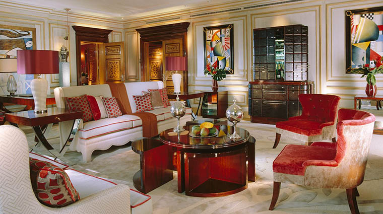 Property HotelPrincipediSavoia Hotel GuestroomSuite ImperialSuiteLivingRoom DorchesterCollection