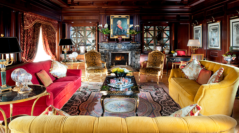 Property HotelPrincipediSavoia Hotel GuestroomSuite PresidentialSuiteLivingRoom DorchesterCollection