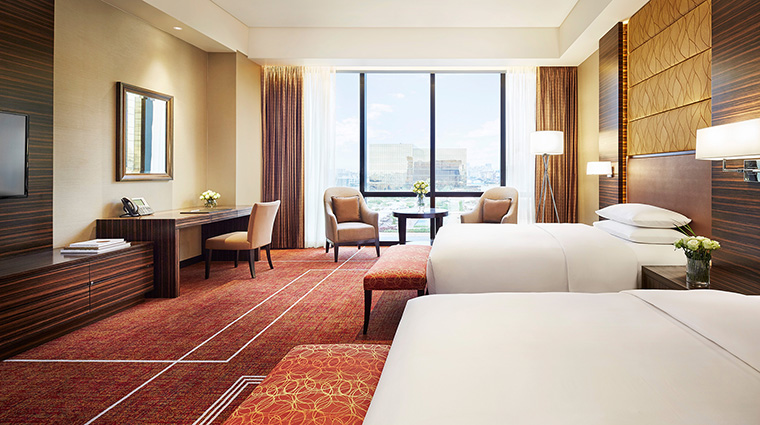 Property HyattCityofDreamsManila Hotel GuestroomSuite TwinDeluxeRoom HyattCorporation