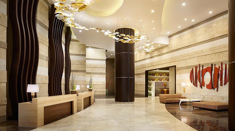 Property HyattCityofDreamsManila Hotel PublicSpaces Lobby HyattCorporation