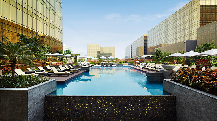 Property HyattCityofDreamsManila Hotel PublicSpaces Pool HyattCorporation