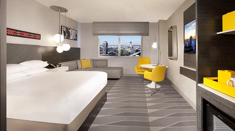Property HyattRegencyLosAngelesInternationalAirport Hotel GuestroomSuite KingGuestroomwithView HyattCorporation
