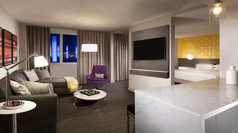 Property HyattRegencyLosAngelesInternationalAirport Hotel GuestroomSuite Suite HyattCorporation