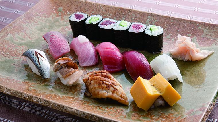 Property ImperialHotelOsaka Hotel Dining kyubeySushi ImperialHotelLtd