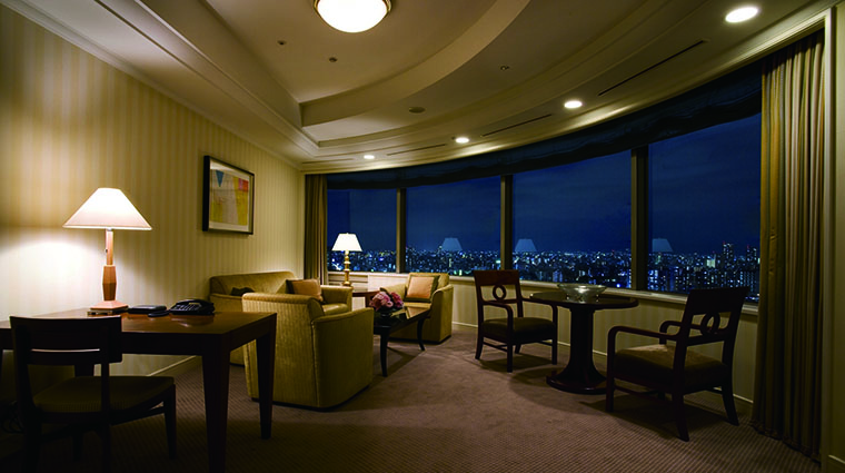 Property ImperialHotelOsaka Hotel GuestroomSuite SuiteLivingRoom ImperialHotelLtd