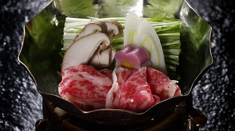 Property InagikuGrandeJapaneseRestaurant Restaurant BeefShabuShabu FourSeasonsHotelsLimited