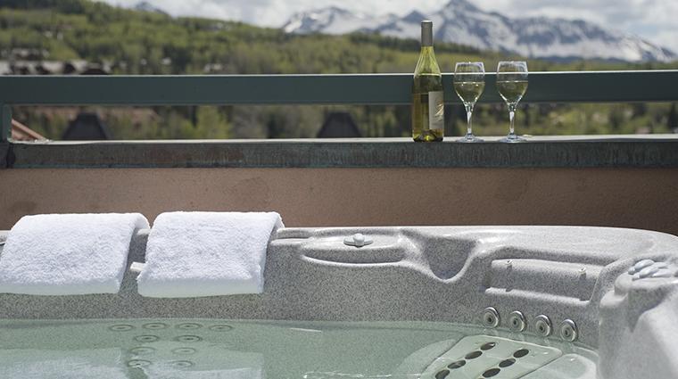 Property InnatLostCreek Hotel GuestroomSuite HotTub InnatLostCreekTelluride