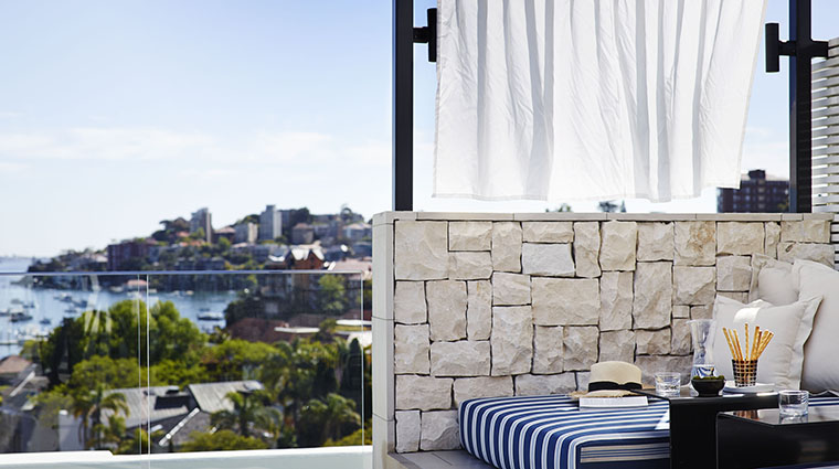 Property InterContinentalSydneyDoubleBay Hotel PublicSpaces RooftopSeating InterContinentalHotelsGroup