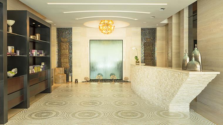 Property IridiumSpaatTheStRegisSaadiyatIslandResortAbuDhabi Spa Reception MarriottInternationalInc
