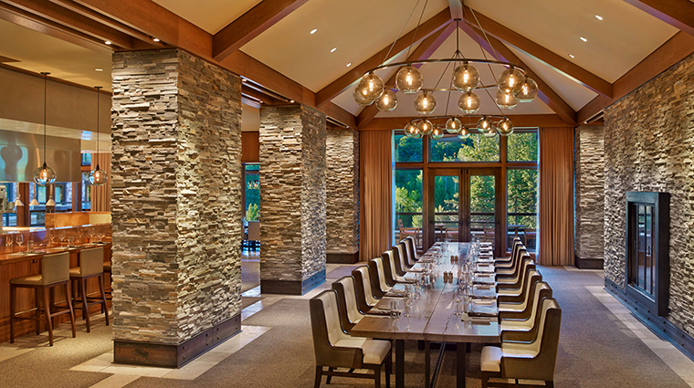 Property J&GGrillattheStRegisDeerValley Restaurant Dining CommunalTable CulinaryConceptsHospitalityGroup