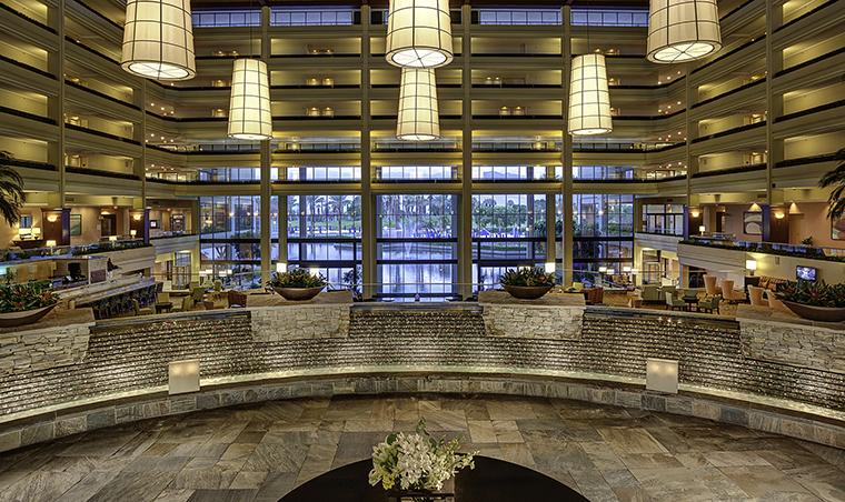 Property JWMarriottDesertSpringsResortandSpa 3 Hotel PublicSpaces Lobby JWMarriottDesertSpringsResortandSpa