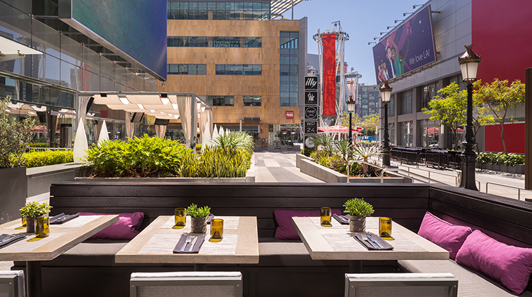 Property JWMarriottLosAngeles Hotel Dining FordsFillingStationPatio MarriottInternationalInc